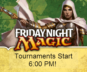 Friday Night Magic, Magic the Gathering, Trading Card Games, Tournaments